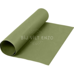 Faux leather groen Bij vilt enzo
