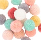 Pompon Pastel Mix Bij vilt enzo