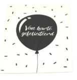 Geurkaart Van Harte Gefeliciteerd Bij vilt enzo