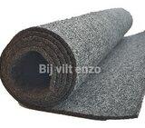 3 mm dik wol vilt donker grijs gemelleerd