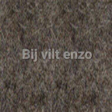 Wolvilt V090-4 Gem. donker Bruin/Ecru