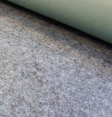 Plakvilt Licht Grijs gemeleerd - 45 cm breed