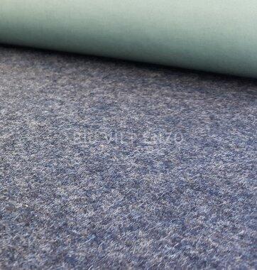 Plakvilt Donker Grijs gem. - 45 cm breed