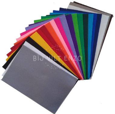 Wolvilt Assortiment Basis 20 Kleuren