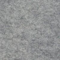 3 mm dik Wol Vilt 45 x 100 cm Licht Grijs gemêleerd
