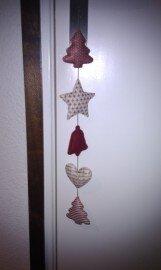Kerstslinger gemaakt door Wendy Mol