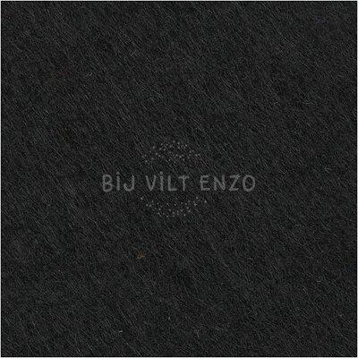 3mm dik Acrylvilt 42x60cm Zwart