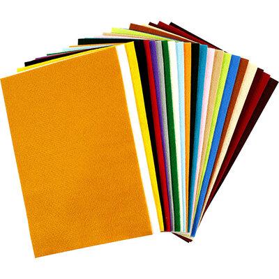 Viltpakket 24 kleuren