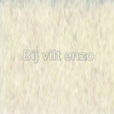 Meter Wolvilt V002  Ecru - 45 cm breed