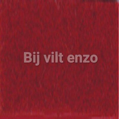 Wolvilt V014 Bordeaux (warm) Rood Lapje 20x30cm