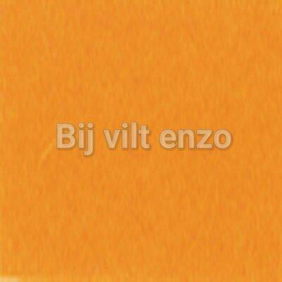 Wolvilt V016 Licht Oranje Lapje 20 x 30 cm