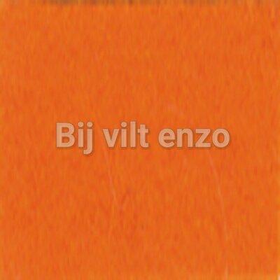 Wolvilt V017 Oranje Lapje 20x30cm