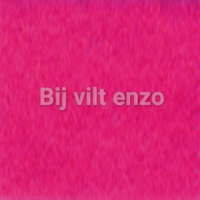 Wolvilt V023 Hard Roze Lapje 20x30cm