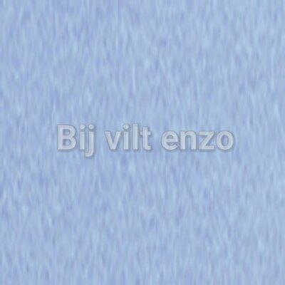 Wolvilt V042 Licht Blauw Lapje 20x30cm
