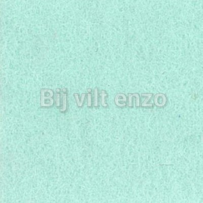 Wolvilt V081 Artic Mint Lapje 20x30cm