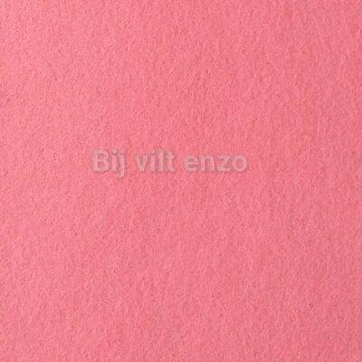 Wolvilt V020 Roze Lapje 20x30cm