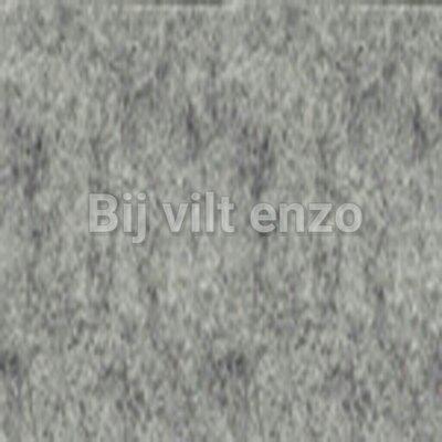 3 mm dik Wol Vilt Lapje gem. L. Grijs