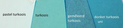 3mm Dik Vilt TREND Pastel Turkoois