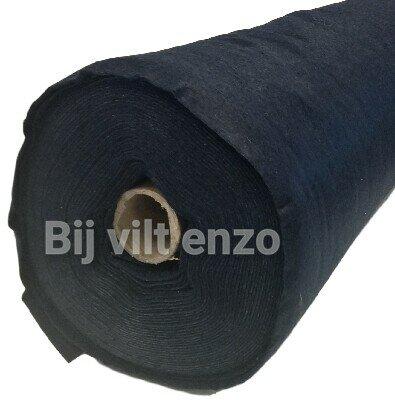 Vilt Donker Blauw van de Rol - 90 cm breed