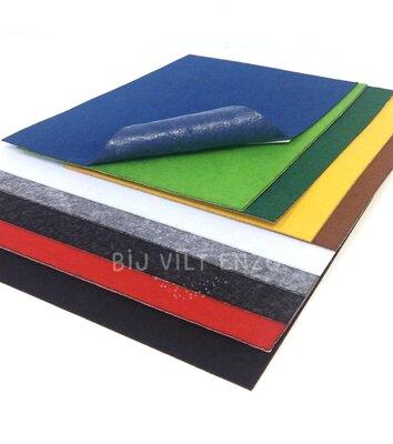 Budget Plakvilt Assortiment Lapjes - 10 kleuren