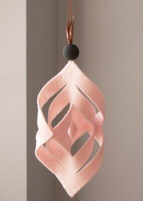 DIY - Vilten hangers