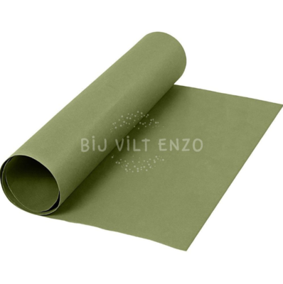 Faux Leather Papier - Groen