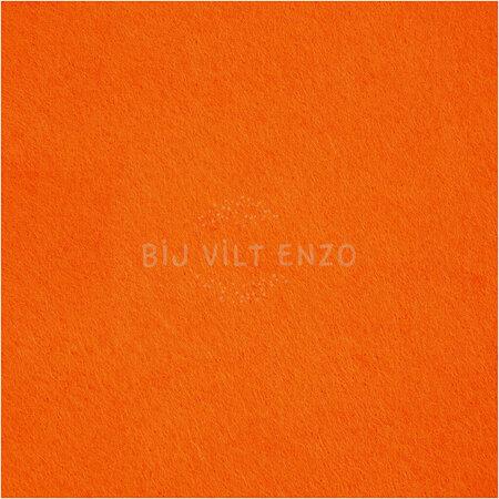 3mm dik Acrylvilt 42x60cm Oranje