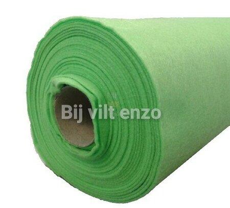 Vilt Lime groen van de Rol - 90 cm breed