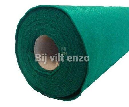 Vilt Groen van de Rol - 90 cm breed