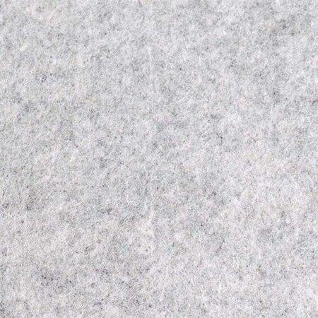 Vilt Licht Grijs gemêleerd van de Rol - 90 cm breed