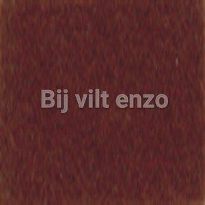 3mm Dik Wolvilt Bruin - Bij vilt enzo
