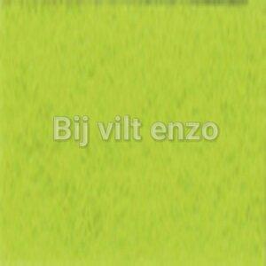 3mm Dik Wolvilt Limoen - Bij vilt enzo