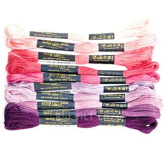 Borduurgaren Roze paars