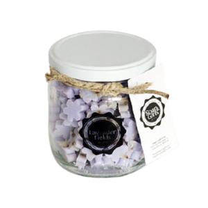 Pot kleine Zeepjes Lavender Fields Bij vilt enzo