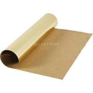 Faux Leather Papier Goud Bij vilt enzo