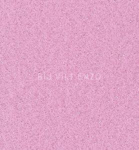 Glittervilt Violet Bij vilt enzo