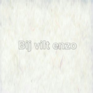 Wolvilt lapje 20 x 30 cm Wit