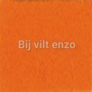 Wolvilt 20 x 30 Oranje