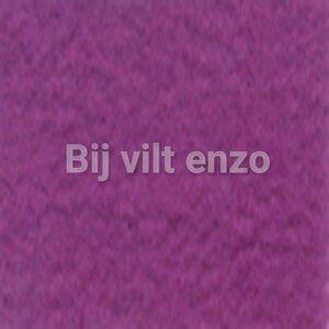 Wolvilt 20 x 30 cm Fuchsia