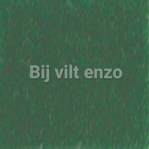 Wolvilt 20 x 30 cm Donker Groen