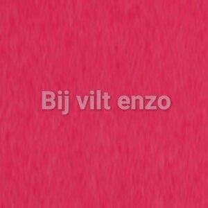 Wolvilt 20 x 30 cm Warm Roze