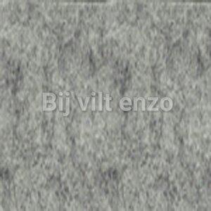 Wolvilt lapje 20 x 30 cm Gemeleerd Licht Grijs