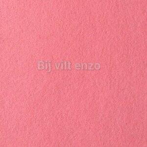 Wolvilt 20 x 30 cm Roze