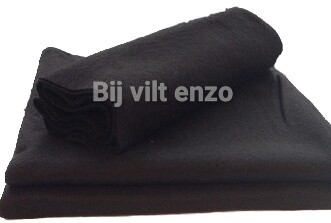 acryl vilt zwart