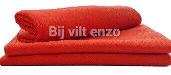 Acryl vilt oranje