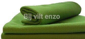 Acryl vilt licht groen
