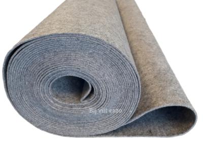 3 mm dik vilt licht grijs gemêleerd | BIJ VILT ENZO