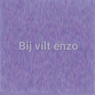 Wolvilt 20 x 30 cm Blauw Lila