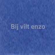Wolvilt 20 x 30 cm Midden Blauw