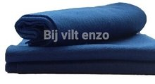 Acryl vilt blauw